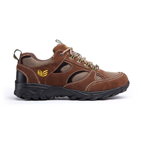 Door Walking Shoes in Brown Nubuck